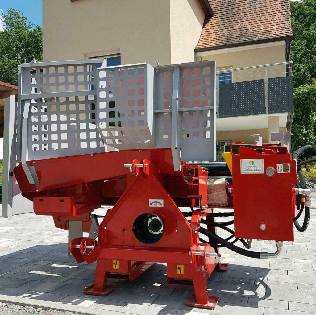 Forsttechnik Spessart - Landtechnik - Topprodukt - Lancman Holzspalter Liegendspalter XLE 21 C